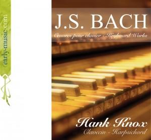 Bach - Hank Knox, harpsichord